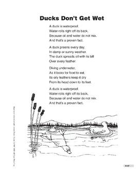 Ducks Don't Get Wet (poem)