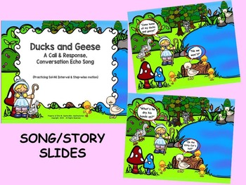 Ducks & Geese: Call/Response Song w/ Activity Pages: (SMNT