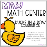 Ducks In A Row Counting On Kindergarten May Math Center