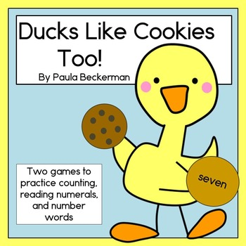 Ducks Like Cookies Too!  Wacky Wednesday flash freebie!