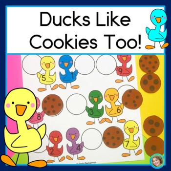 Ducks Like Cookies Too! Counting and reading numbers to 10