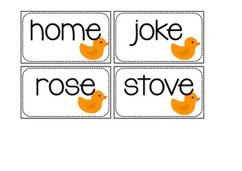 Ducks - Long o and Other Literacy Activities