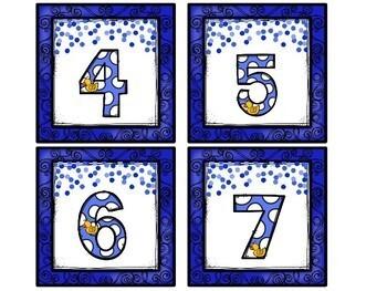 Ducks Number Match Up Math Center