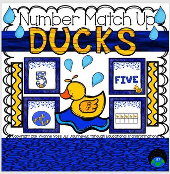 Ducks Number Match Up