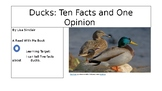 Ducks:  Ten Facts and One Opinion with a Song
