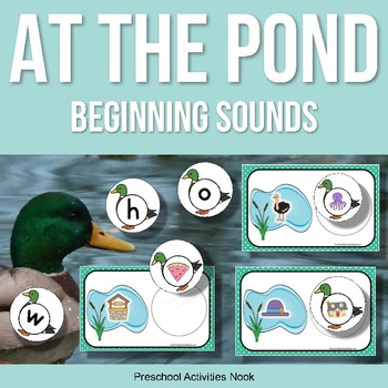 Ducks at the Pond Beginning Sounds for Spring