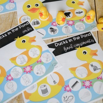 Ducks in the Pond: A Speech and Language Game Companion