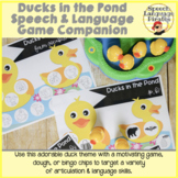 Ducks in the Pond: A Speech and Language Game Companion -