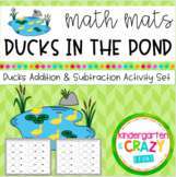 Ducks in the Pond Addition and Subtraction Activity Set