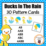 Patterns: Ducks in the Rain Pattern Cards