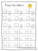 Ducks themed A-Z Tracing Worksheets.Printable Preschool Handwriting