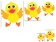 Ducks themed Size Sequence. Printable Preschool Game