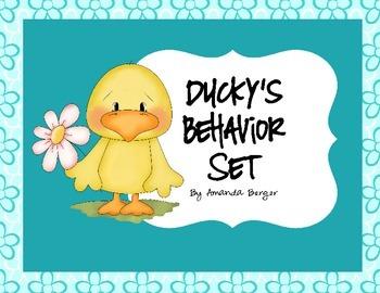 Ducky Behavior Award Set