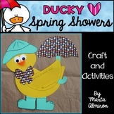 Ducky Loves Spring Showers - Craft and Activities