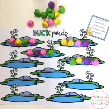Ducky Multiplication and Division Pack - Grouping and Sharing