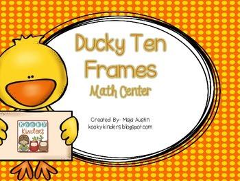 Ducky Ten Frames
