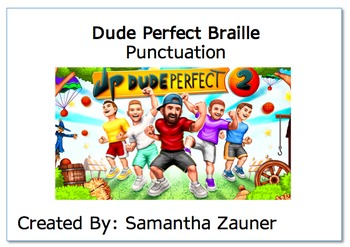 Dude Perfect Braille Game
