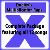 Dudley's Multiplication Raps: Complete Package of all 12 Songs