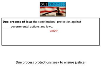 Due Process power point (CE.10d)