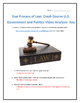 Due Process of Law: Crash Course U.S. Government and Polit