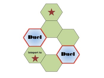 """""""Duel"""" Board Game"""