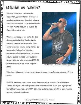 Duele el corazón Spanish Song Activities Packet