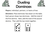 Dueling Dominoes - Addition