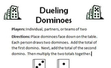 Dueling Dominoes - Multiplication