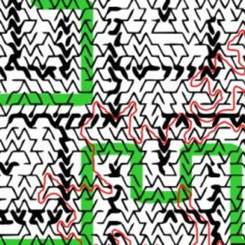 Dueling Mazes Pictorial Maze - Intricate, full-page maze activity
