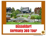Düsseldorf Germany Tour Project - Digital or Printable - distance learning