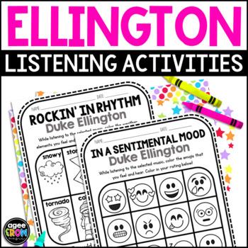 Duke Ellington Listening Set (with Preview!) America, Big Band, Jazz, Swing