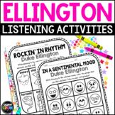 Duke Ellington Composer Listening Activities, April Jazz
