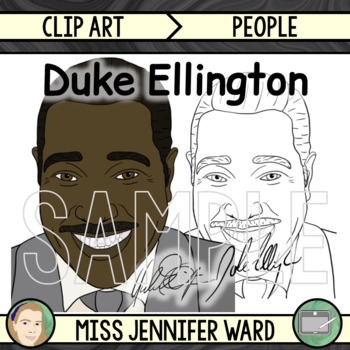 Duke Ellington Clipart
