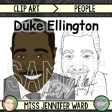 Duke Ellington Clip Art