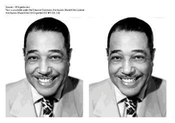 Duke Ellington Comic Strip and Storyboard