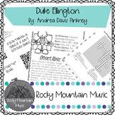 Duke Ellington Literature Study