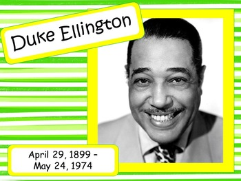 Duke Ellington: Musician in the Spotlight