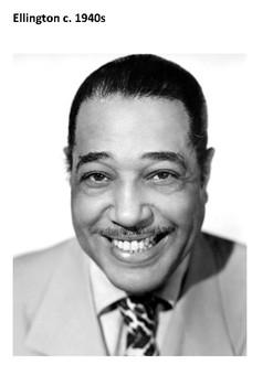 Duke Ellington Word Search