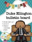 Duke Ellington bulletin board