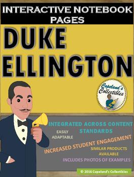 Duke Ellington's Interactive Notebook Pages
