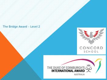 Duke of Edinburgh Bridge 2 Award Powerpoint