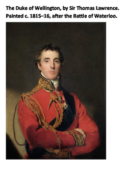 Duke of Wellington Word Search