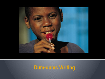Dum-dums (candy) Writing Prompt