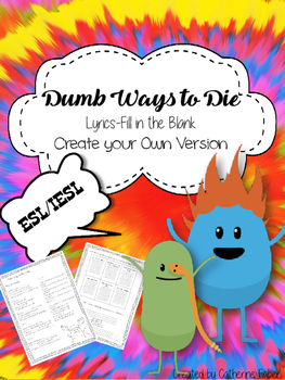 Dumb Ways to Die Song-Intensive English