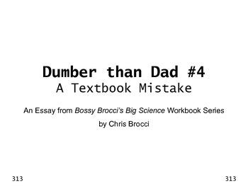 Dumber than Dad #4