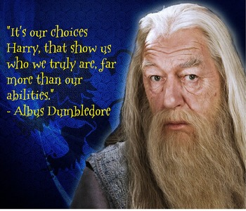 Dumbledore Choices Poster