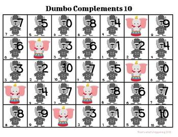 Dumbo Complements of Ten