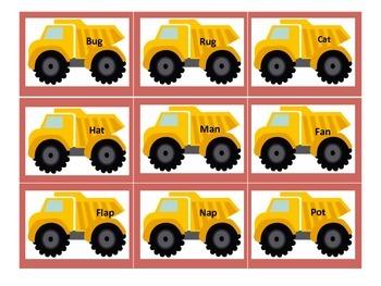 Dump Truck Sight Word Game