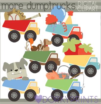 Dump Trucks Clip Art