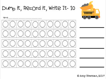 Dump it to 10 - Finding Combinations that Make Numbers up to Ten